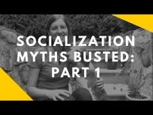 Embedded thumbnail for Socialization Myths: Part 1