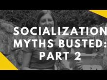 Embedded thumbnail for Socialization Myths: Part 2